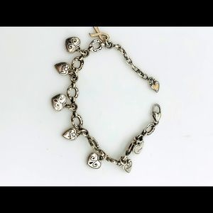 Brighton Power of Pink Courage Strength Charm Retired classic Bracelet
